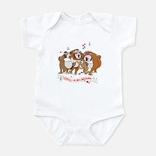 GOR-ILL-A my dreams. Infant Bodysuit