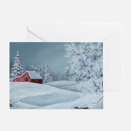 Winter Solitude Christmas Card