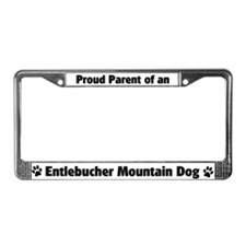 Entlebucher Mountain D License Plate Frame