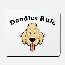 Doodles Rule Mousepad