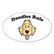 Doodles Rule Stickers