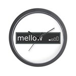 Mellow Wall Clock