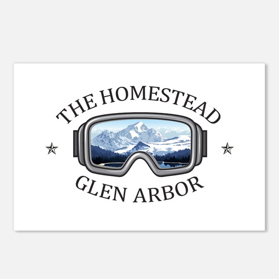 The Homestead - Glen Ar Postcards (Package of 8)