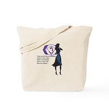 Third Eye Chakra Affirm Tote Bag