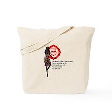 Root Chakra Affirm Tote Bag