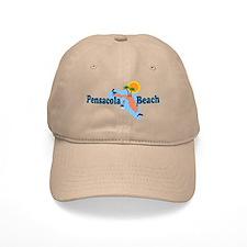 Pensacola Beach FL Baseball Cap