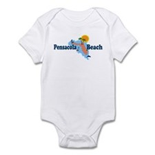 Pensacola Beach FL Infant Bodysuit