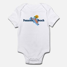 Pensacola Beach FL Infant Bodysuit