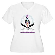 Wellbody Women's Chakra Easy-fit V-Neck T-Shirt