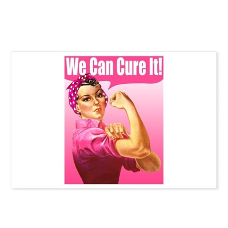 Rosie Riveter We Can Cure It Postcards (Package of