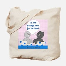 Teacup LOLcats Tote: It's High Time for Tea Time!