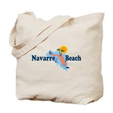 Navarre Beach FL Tote Bag