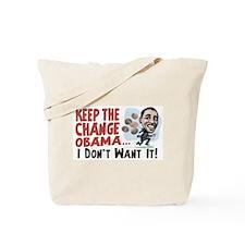 Keep the Change Obama Tote Bag
