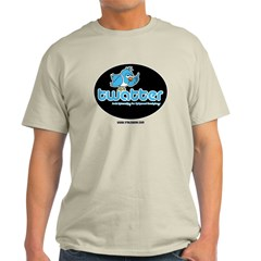 twatter, because twitter is l T-Shirt