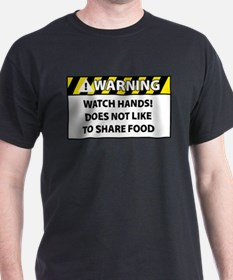No Share Food T-Shirt
