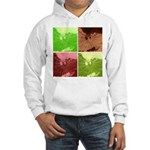 Pop Art Spider Web Hooded Sweatshirt