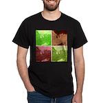 Pop Art Spider Web Dark T-Shirt