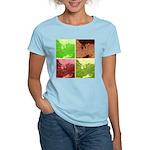Pop Art Spider Web Women's Light T-Shirt