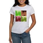 Pop Art Spider Web Women's T-Shirt