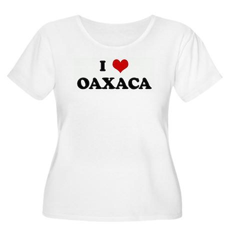 I Love OAXACA Women's Plus Size Scoop Neck T-Shirt