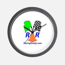 Racing Ready Wall Clock