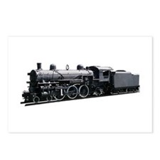 Locomotive (Side) Postcards (Package of 8)