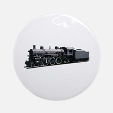 Locomotive (Side) Ornament (Round)