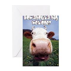 Big Wet One Greeting Card