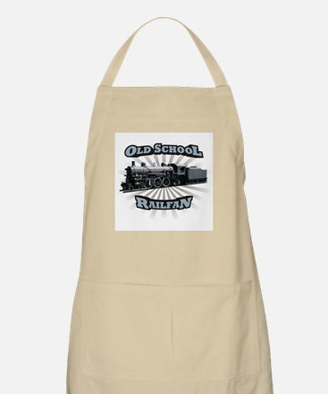 Old School Railfan BBQ Apron