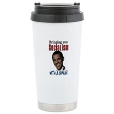 Socialism with a Smile! Travel Mug