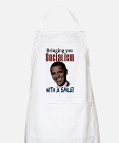 Socialism with a Smile! BBQ Apron