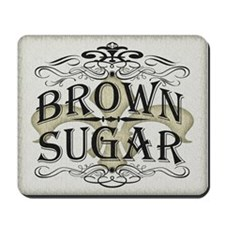 Vintage Brown Sugar Mousepad