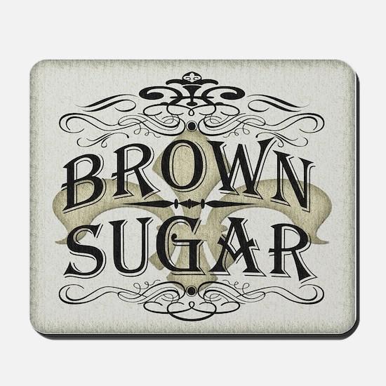 Vintage Brown Sugar Mousepad