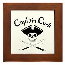 Captain Cook Framed Tile