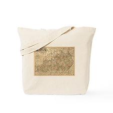 1863 Kentucky Tote Bag