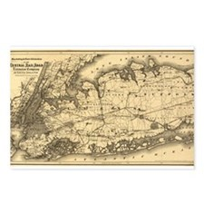 1873 New York City Postcards (Package of 8)