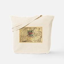 1872 Savannah & Memphis RR Tote Bag