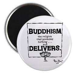 Buddhism Delivers (small) Magnet