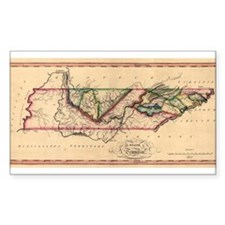 1817 Tennessee Rectangle Decal