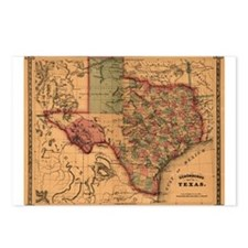 1866 Texas Postcards (Package of 8)