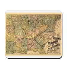 1882 VA, TN, & GA Line Mousepad