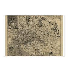 1607 Virginia Postcards (Package of 8)
