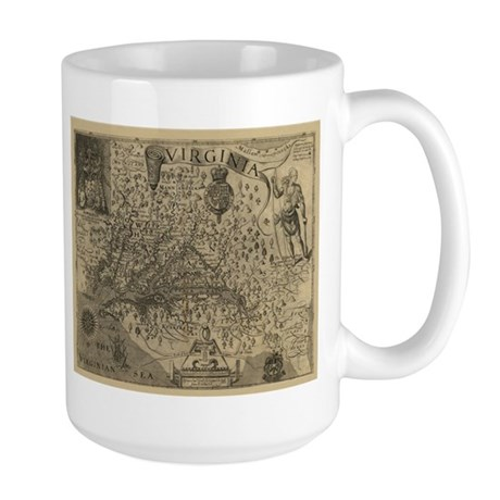 1607 Virginia Large Mug