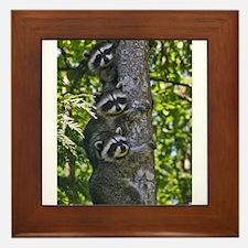 Back Yard Critters Framed Tile