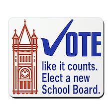 Change Duluth School Board Mousepad