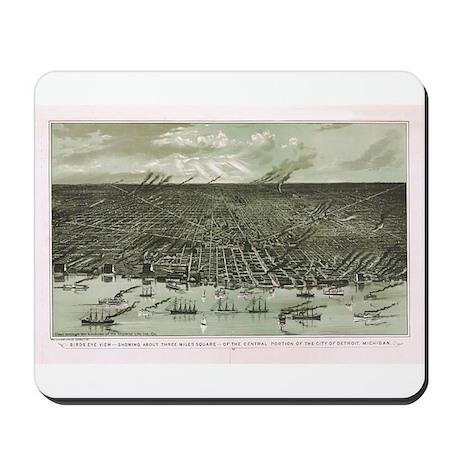 1861 Detroit Mousepad