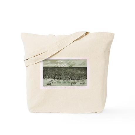 1861 Detroit Tote Bag