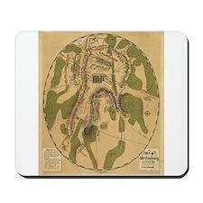 1863 Gettysburg Mousepad