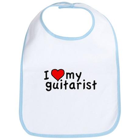 Love My Guitarist Bib