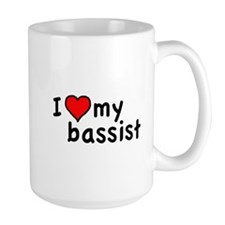 Love My Bassist Mug